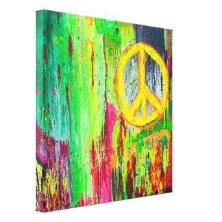 タイムズ・スクエア24 x 24のキャンバスプリントの平和 キャンバスプリント