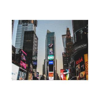 タイムズ・スクエア、ニューヨークシティ キャンバスプリント