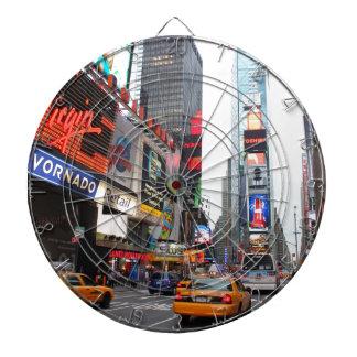 タイムズ・スクエア、ニューヨークシティ、米国 ダーツボード