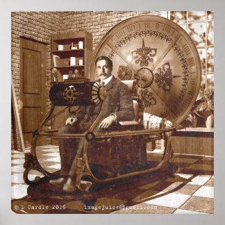 タイムマシンに坐るHGの井戸 ポスター