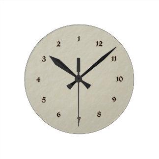"""""""タイムマシン""""のノベルティの時計 ラウンド壁時計"""