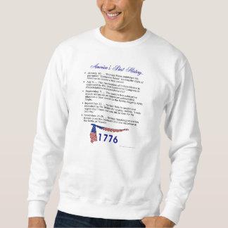 タイムライン1776年 スウェットシャツ