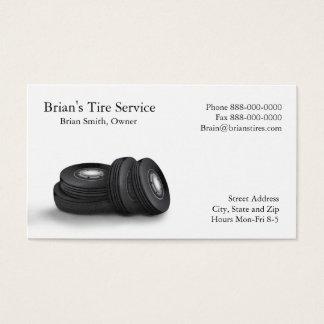 タイヤの販売の名刺 名刺