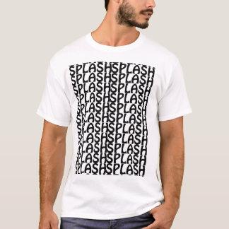 タイルのしぶき Tシャツ