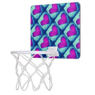 タイルのハートの小型バスケットボールたが ミニバスケットボールゴール
