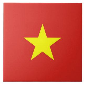 タイルのベトナムの旗 タイル