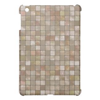 タイルのSpeckのベージュ雑色の箱 iPad Miniカバー