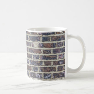 タイルを張られたレンガ壁の都市質パターン コーヒーマグカップ