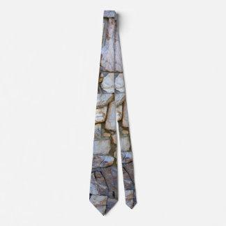 タイ2の石の壁の質の写真 ネクタイ