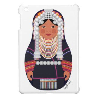 タイMatryoshkaのiPad MiniケースのAkhaの女の子 iPad Miniケース