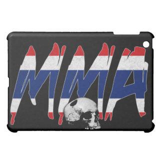 タイMMAのスカルの黒のiPadの場合 iPad Miniケース