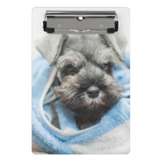 タオルが付いている子犬の覆い ミニクリップボード