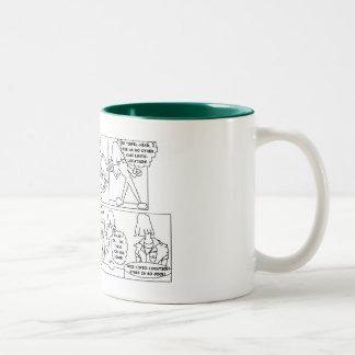 タオルヘッドのマグとしてHURBI ツートーンマグカップ