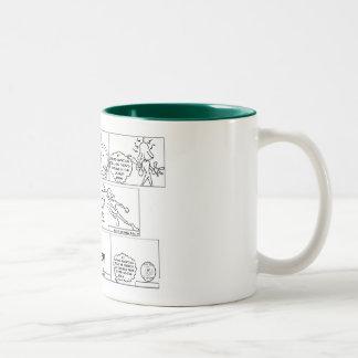 タオルヘッド2としてHURBI ツートーンマグカップ