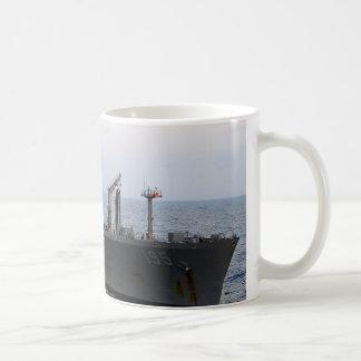 タオ195 USNSルロアグラマン コーヒーマグカップ