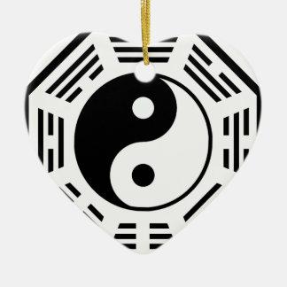 タオ-インおよびヤン- TAOISM/LAO TZU/の東の秘法 セラミックオーナメント