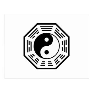 タオ-インおよびヤン- TAOISM/LAO TZU/の東の秘法 ポストカード