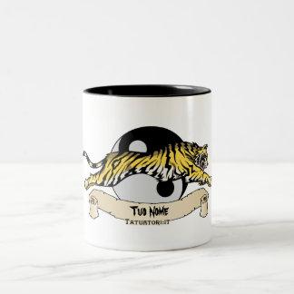 タオTigre、Tuo Nome ツートーンマグカップ