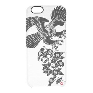タカおよびツバキの鷹椿 クリアiPhone 6/6Sケース