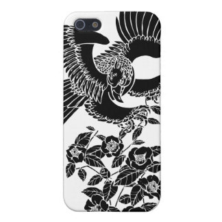 タカおよびツバキの鷹椿 iPhone SE/5/5sケース