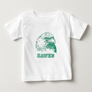 タカのロゴ ベビーTシャツ