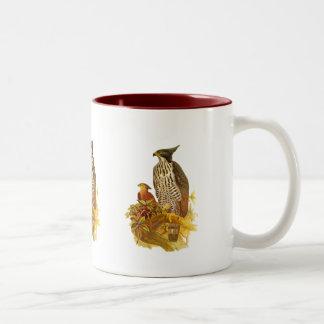 タカのワシ ツートーンマグカップ