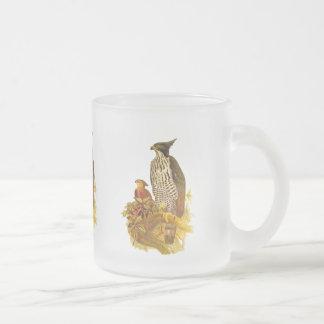 タカのワシ フロストグラスマグカップ