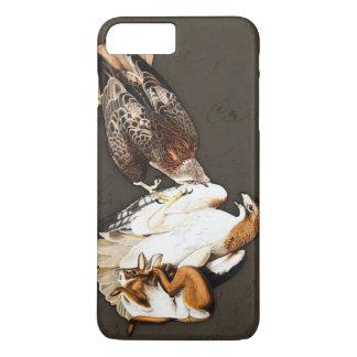 タカの狩りのヴィンテージ iPhone 8 PLUS/7 PLUSケース