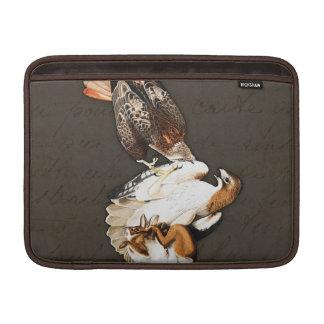 タカの狩りのヴィンテージ MacBook スリーブ