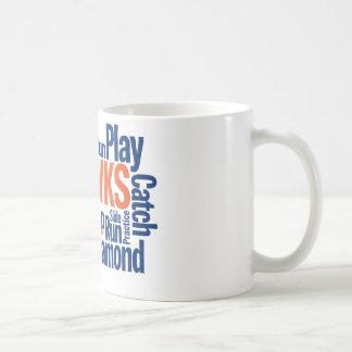 タカの野球 コーヒーマグカップ