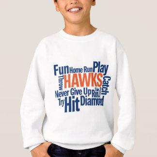 タカの野球 スウェットシャツ