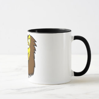 タカの顔 マグカップ