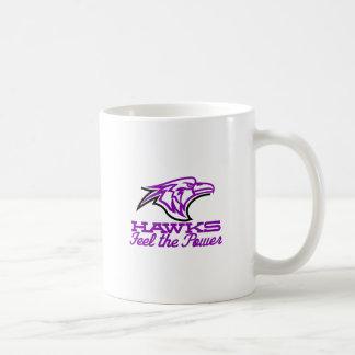 タカは力を感じます コーヒーマグカップ