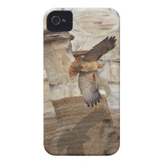 """""""タカ""""の野生鳥の猛禽のiPhoneの場合Hoodoo Case-Mate iPhone 4 ケース"""