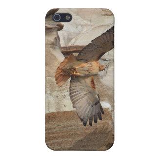 """""""タカ""""の野生鳥の猛禽のiPhoneの場合Hoodoo iPhone SE/5/5sケース"""