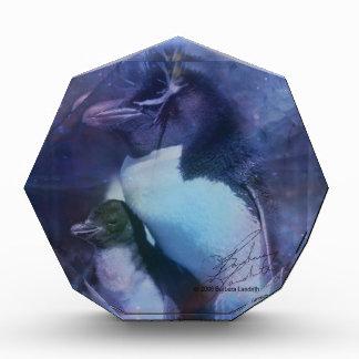 タキシードのエキゾチックなペンギン 表彰盾