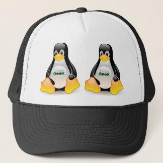 タキシードのLinuxのギーク キャップ