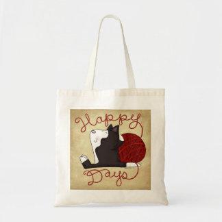 タキシード猫の幸せな日 トートバッグ