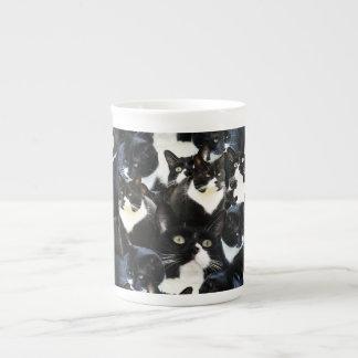 タキシード猫の狂気 ボーンチャイナカップ