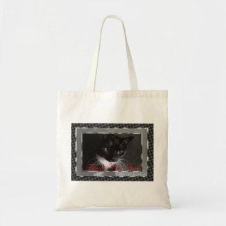タキシード猫の規則のトート トートバッグ