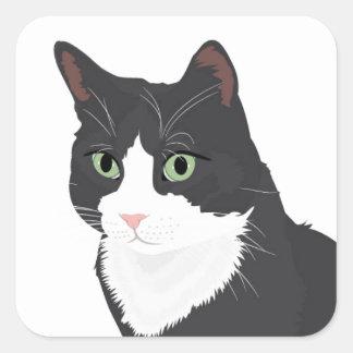 タキシード猫 スクエアシール