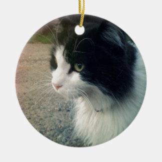 タキシード猫 セラミックオーナメント