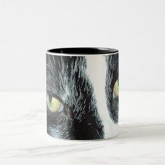 タキシード猫 ツートーンマグカップ