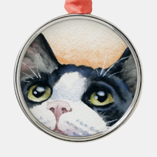 タキシード猫 メタルオーナメント