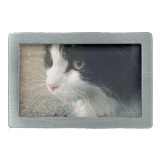タキシード猫 長方形ベルトバックル