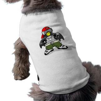 タキシード30043のギャングの態度のおもしろいなタキシードのペンギンda ペット服