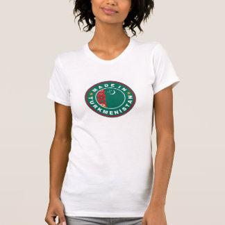 タキマンニスタンでなされるプロダクト国旗のラベル Tシャツ