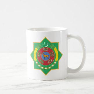 タキマンニスタンのマグ紋章付き外衣 コーヒーマグカップ