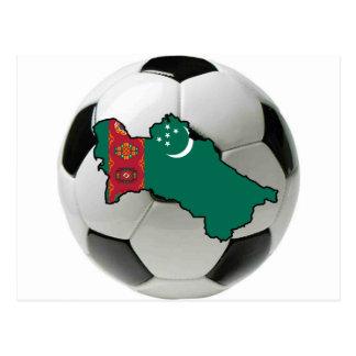 タキマンニスタンの全国代表チーム ポストカード