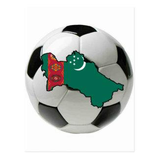 タキマンニスタンの全国代表チーム 葉書き